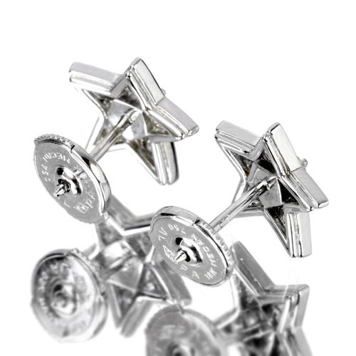 79d78ab69306 シャネル/コメット(CHANEL) ダイヤモンド ホワイトゴールド ピアス【品質保証書/ブランド保証書・BOX付】